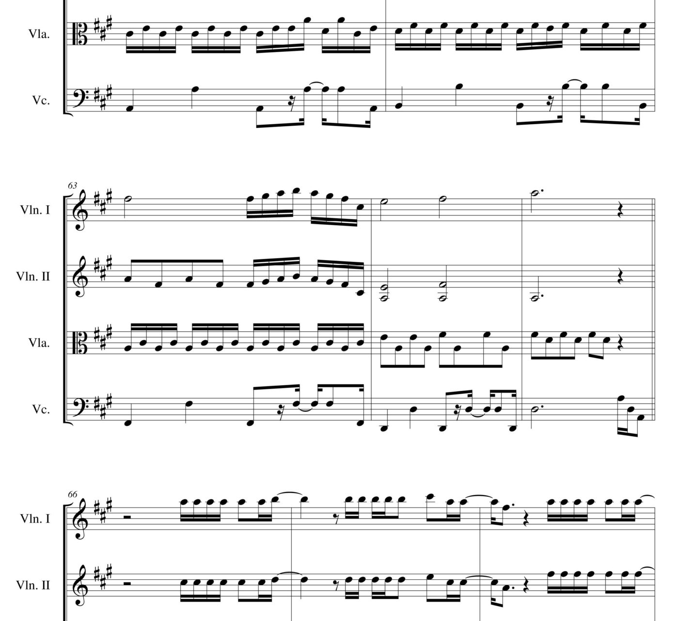 halo violin sheet music