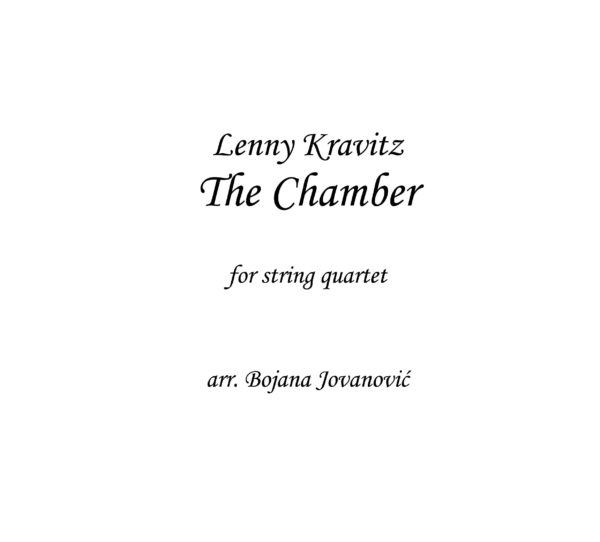 The Chamber (Lenny Kravitz) - Sheet Music