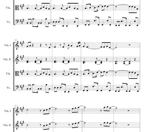 Get Lucky (Daft Punk ft Pharrell Williams) - Sheet Music