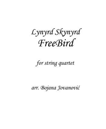 Freebird (Led Zeppelin) - Sheet Music