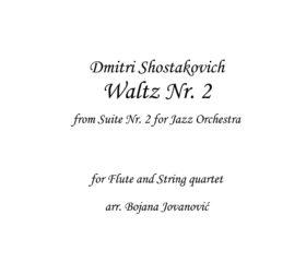Waltz Nr 2 (D. Shostakovich) - Sheet Music