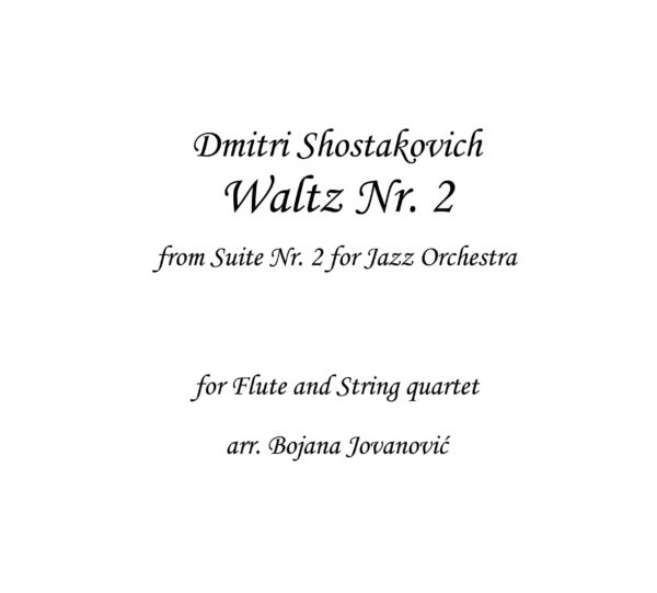Waltz Nr 2 (D. Shostakovich) - Sheet Music