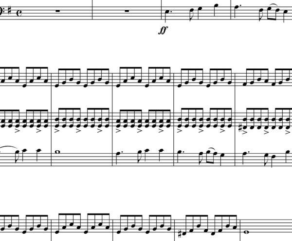 Bilecanka (Milan Apih) - Sheet Music