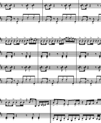 Escualo Sheet music (Astor Piazzolla)