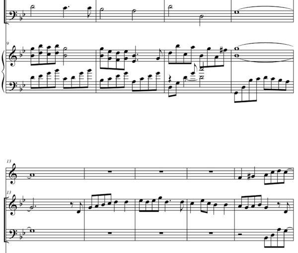 Hatikvah (Jewish music) - Sheet Music