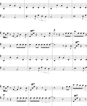 Seven Nation Army (The White Stripes) - Sheet Music