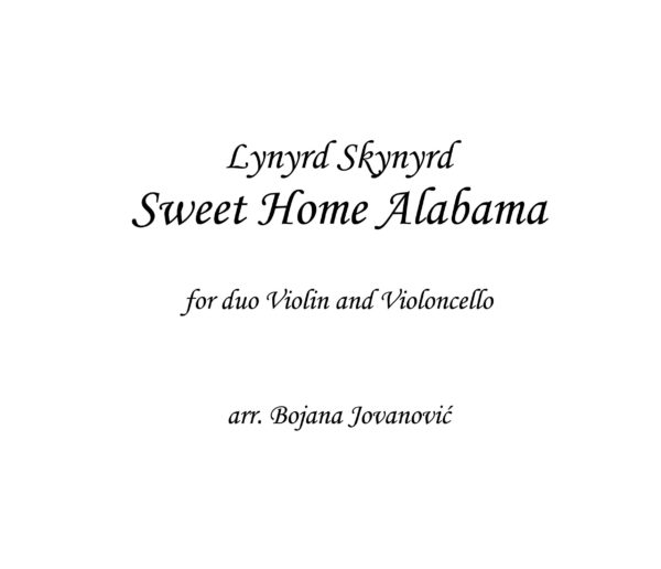 Sweet Home Alabama (Lynyrd Skynyrd) - score and parts-244 copy