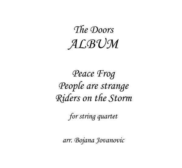 Tribute to The Doors - Sheet Music