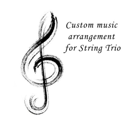 Custom arrangement for String Trio