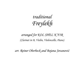 Freylekh (Klezmer) - Sheet Music