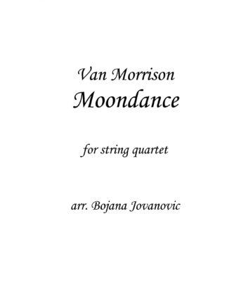 Moondance (Van Morrison) - Sheet Music
