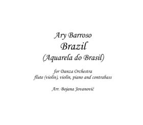 Brazil (Ary Barroso) Sheet Music