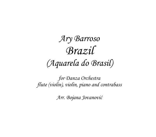 Brazil (Ary Barroso) Sheet Music