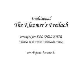 Klezmers Freylekh (Klezmer) - Sheet Music