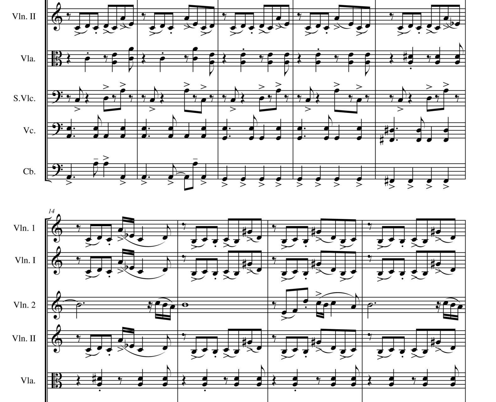 Libertango (String orchestra)