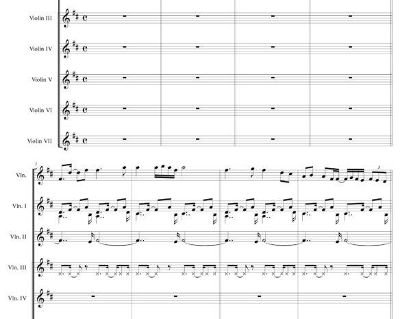 Rising Love Sheet music (Bojana Jovanovic)
