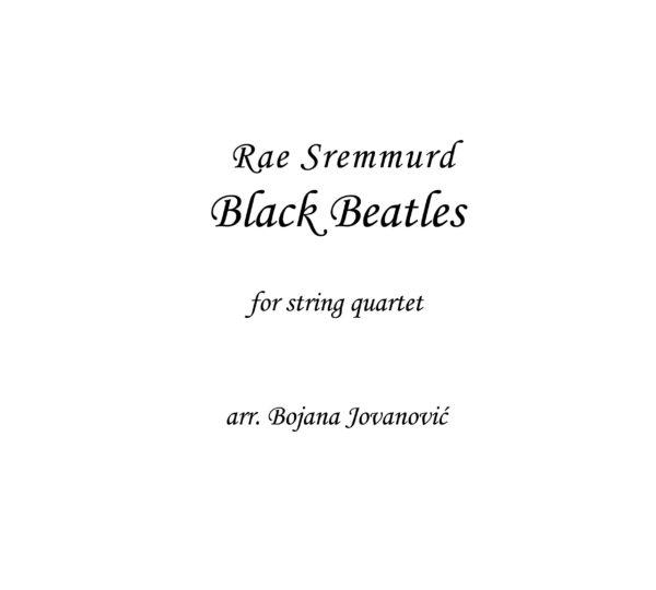 Black Beatles Sheet music (Daj Jordan)