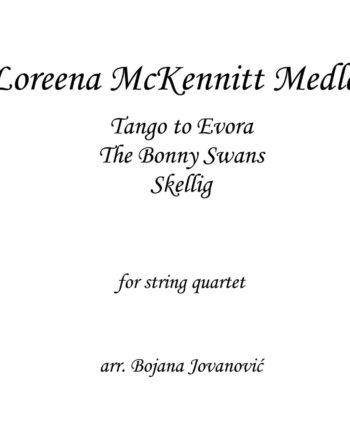Loreena McKennitt Medley Sheet music