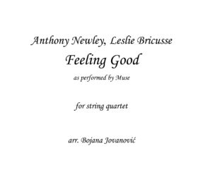 Feeling good Muse Sheet music