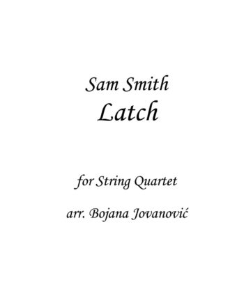 Latch Sam Smith Sheet music