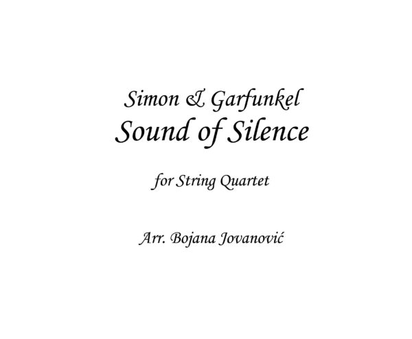 Sound of Silence sheet music