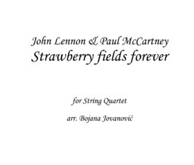 Strawberry Fields Forever Sheet music