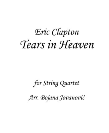 Tears in Heaven Eric Clapton Sheet music