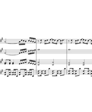 The Rembrandts - Theme song from Friends - Sheet Music or String quartet - I ll be there for You