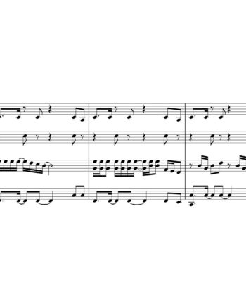 Imagine Dragons Thunder Sheet Music for String Quartet