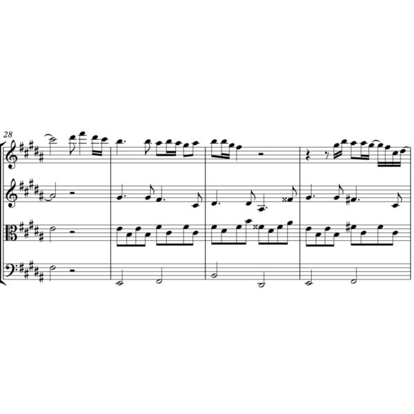 John Lennon - Imagine - Sheet Music for String Quartet - Music Arrangement for String Quartet