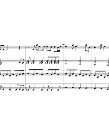 Beatles - Hey Jude - Sheet Music for String Quartet - Music Arrangement for String Quartet