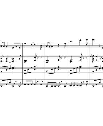 Jason Aldean - You Make It Easy - Sheet Music for String Quartet - Music Arrangement for String Quartet