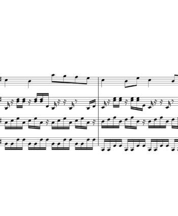 Charlie Puth ft. Selena Gomez - We Don't Talk Anymore - Sheet Music for String Quartet - Music Arrangement for String Quartet