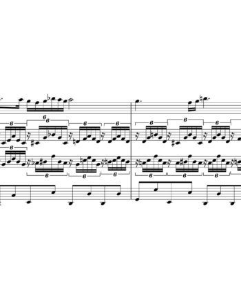 Franz Schubert - Ave Maria - Sheet Music for String Quartet - Music Arrangement for String Quartet