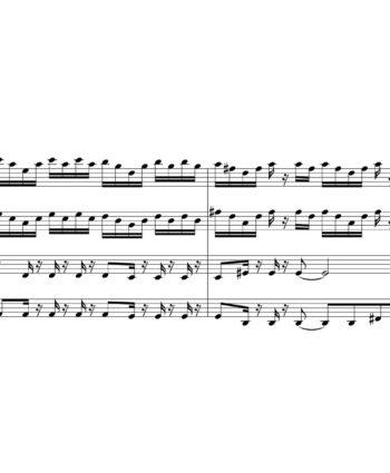 Led Zeppelin - All Of My Love - Sheet Music for String Quartet - Music Arrangement for String Quartet