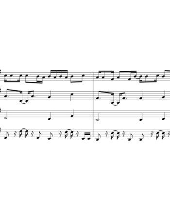 Benny Blanco, Halsey and Khalid - Eastside - Sheet Music for String Quartet - Music Arrangement for String Quartet