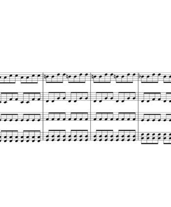 Doctor Who Theme - I Am The Doctor - Sheet Music for String Quartet - Music Arrangement for String Quartet